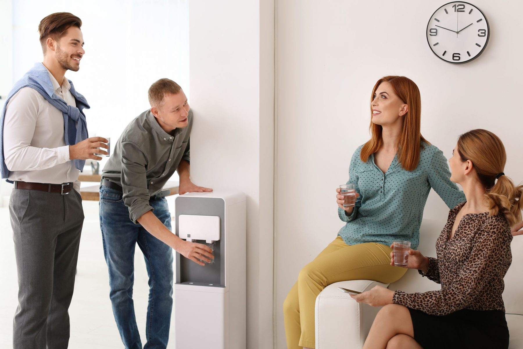 reduce conflict with colleagues by informal chat